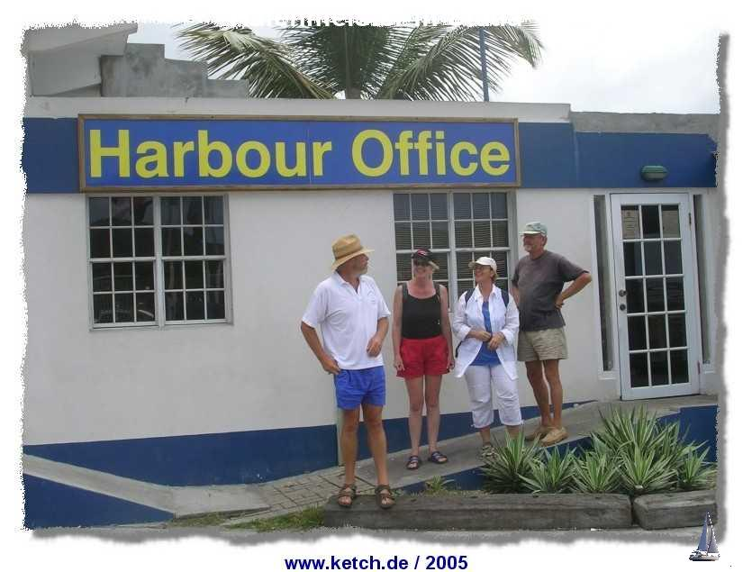 Hafenmeister in Statia