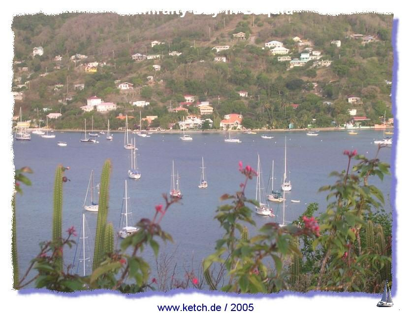 Admiralty Bay in Bequia