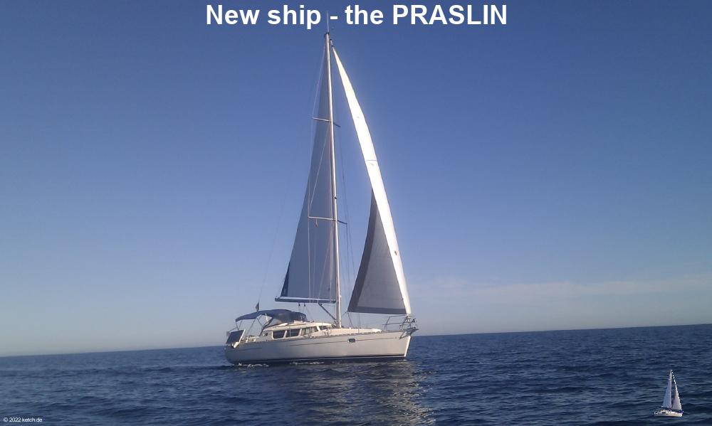 New ship - the PRASLIN