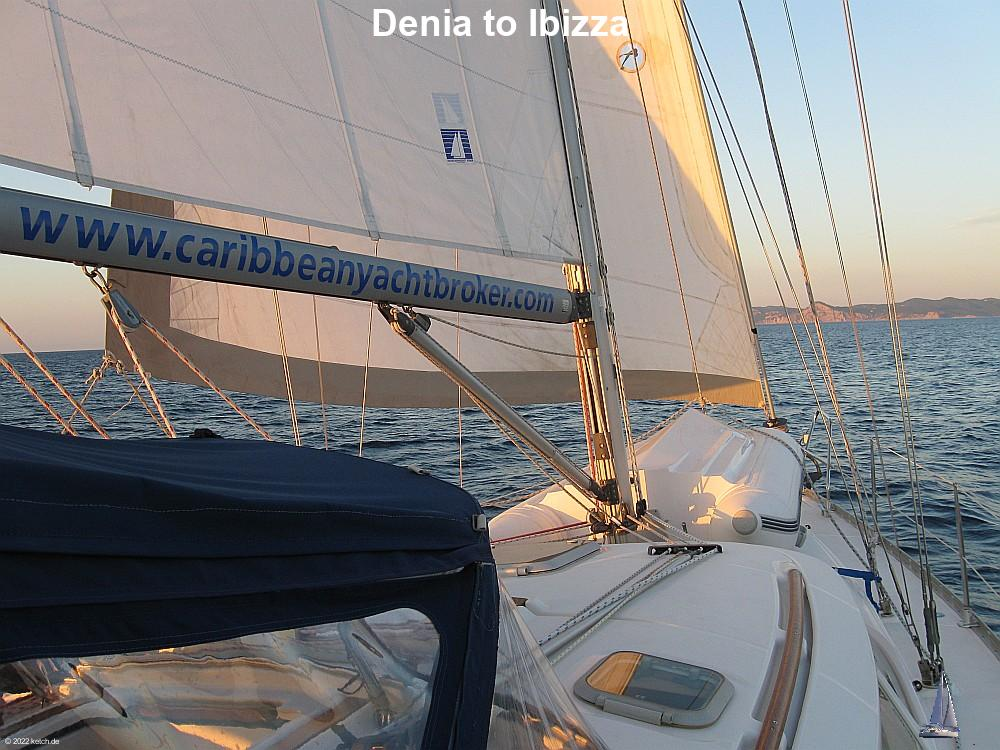 Denia to Ibizza