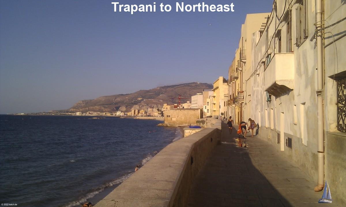 Trapani to Northeast