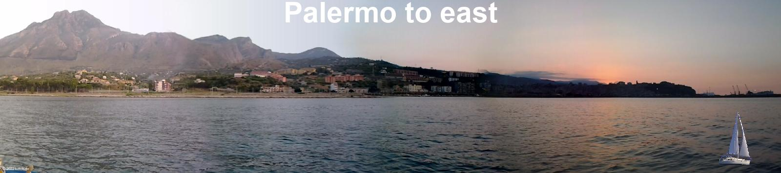 Palermo to east
