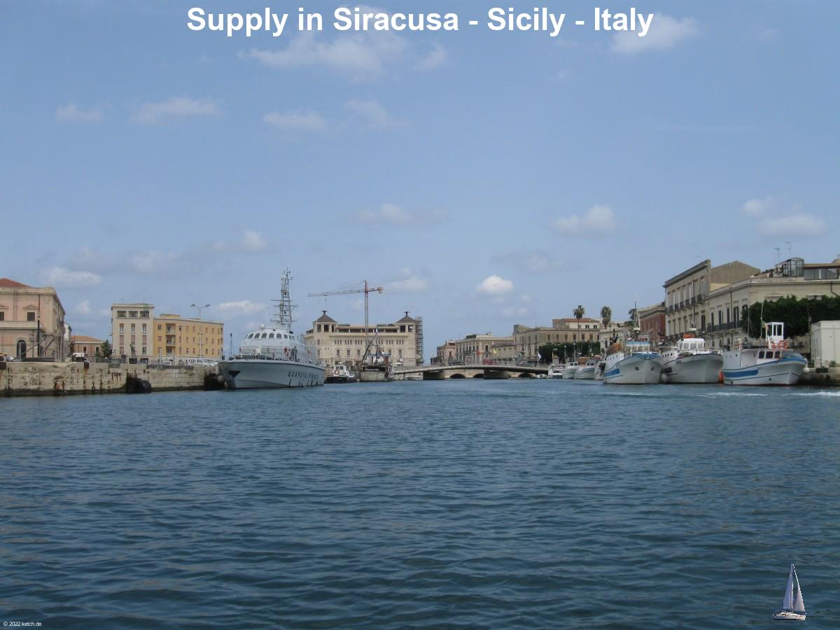 Supply in Siracusa - Sicily - Italy