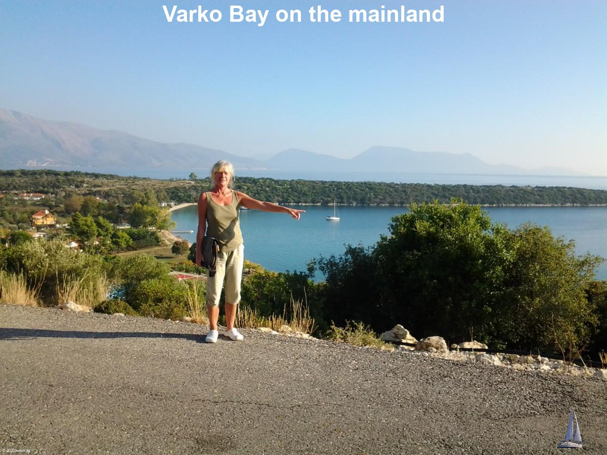 Varko Bay on the mainland