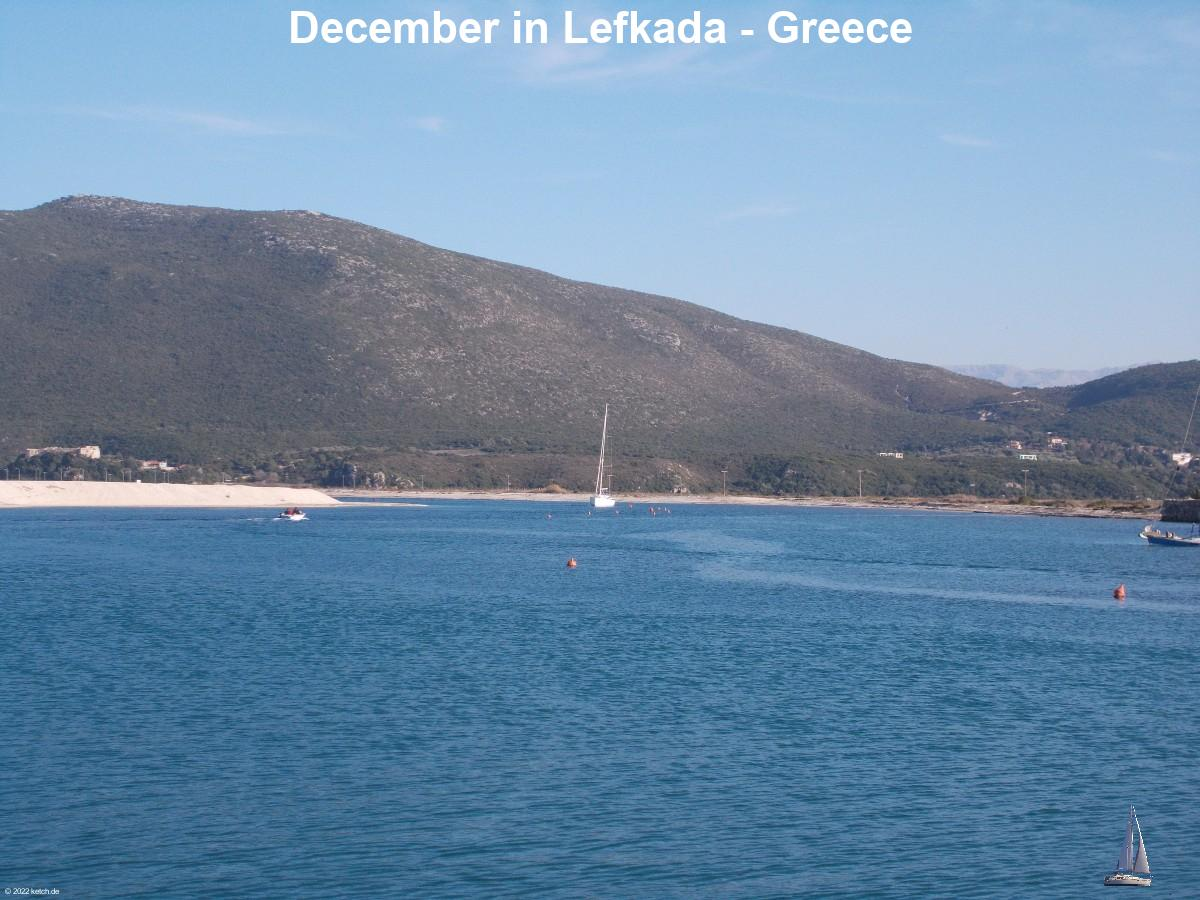 December in Lefkada - Greece