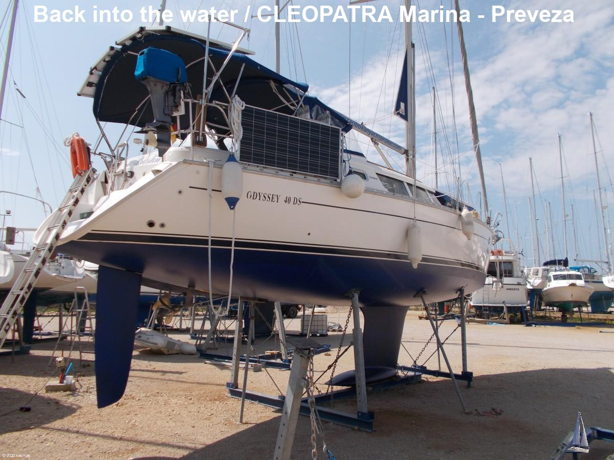 Back into the water / CLEOPATRA Marina - Preveza