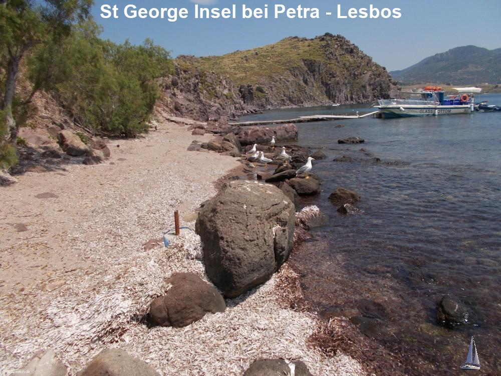 St George Insel bei Petra - Lesbos