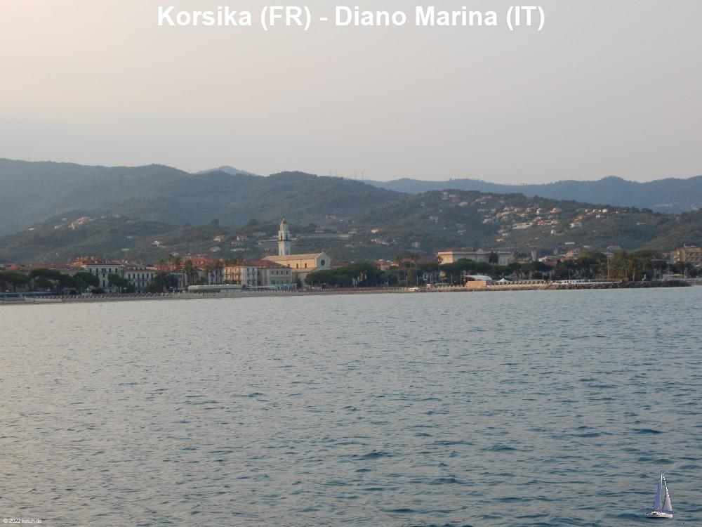 Korsika (FR) - Diano Marina (IT)