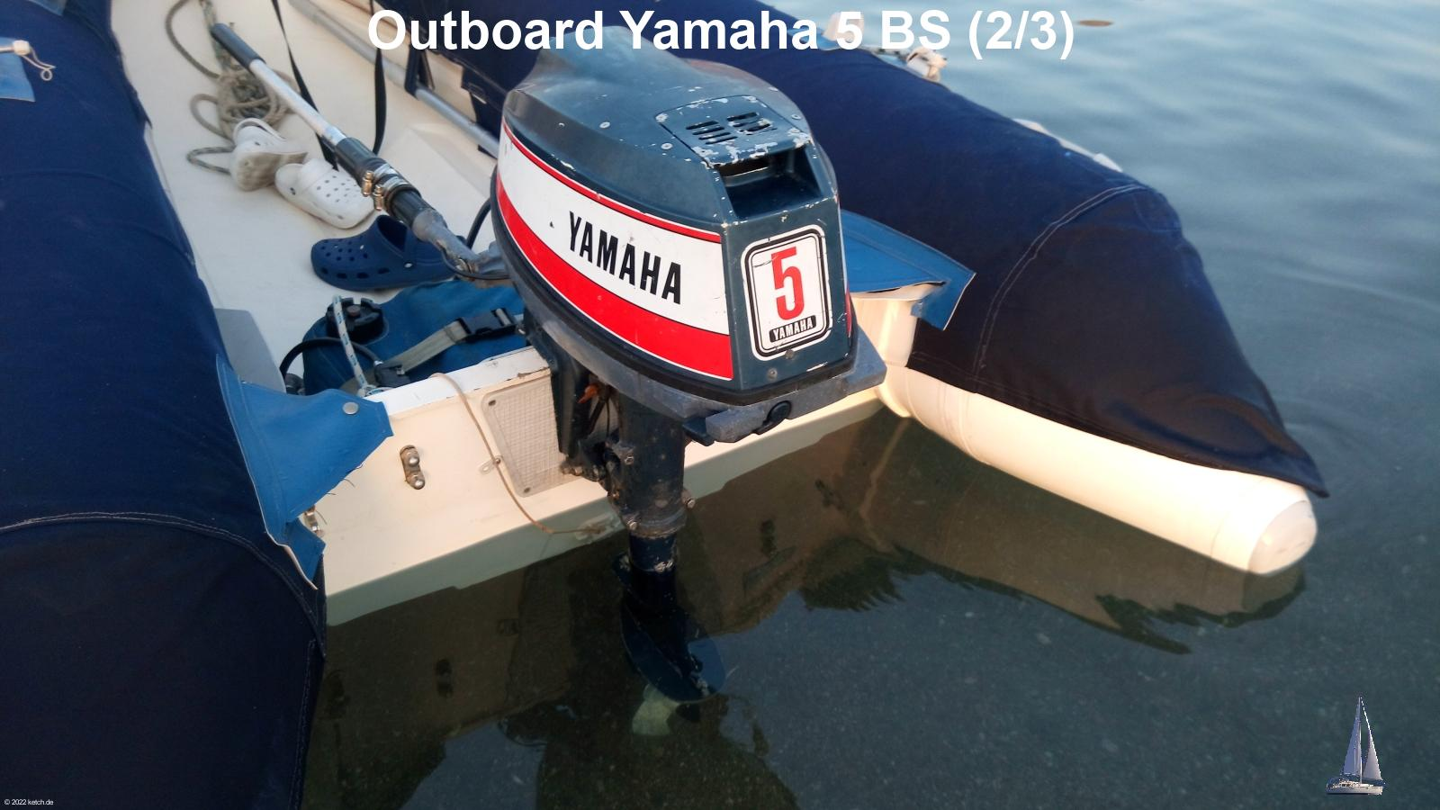 Outboard Yamaha 5 BS (2/3)