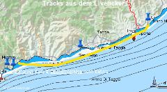 Diano Marina (IT) - Menton (FR) - Tracks aus dem Liveticker