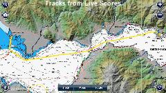 Trizonia , the island in the Gulf of Corinth - Tracks from Live Scores